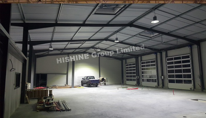 LED High Bay Light in Agriculture warehouse in France