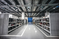 CE ROHS SAA VEET Listed  150w J Series UFO  LED High Bay Light For Wharehouse In Spain.