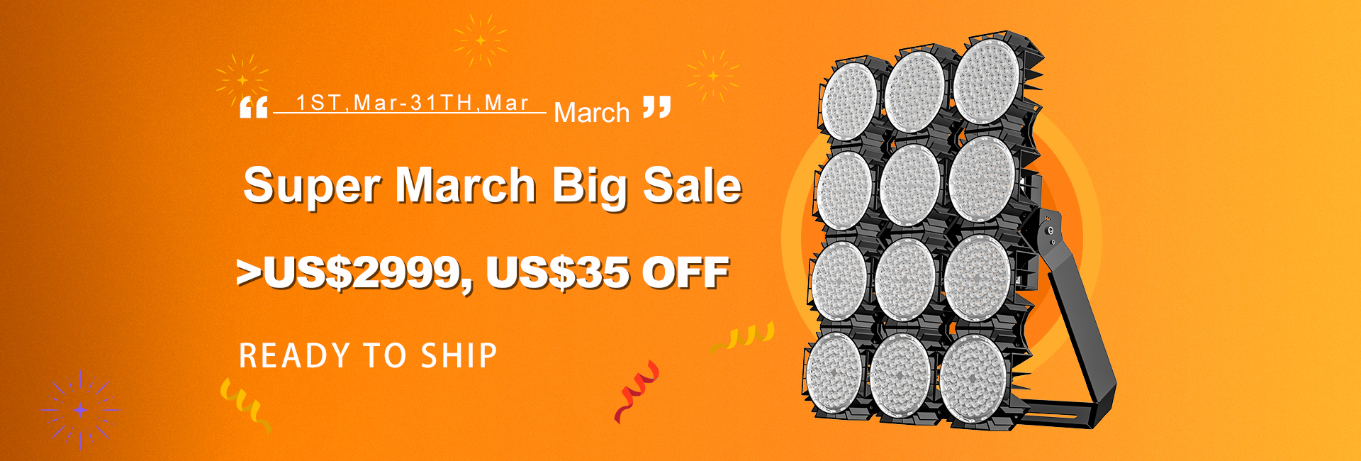 Super March Big SALE for Private Mold products
